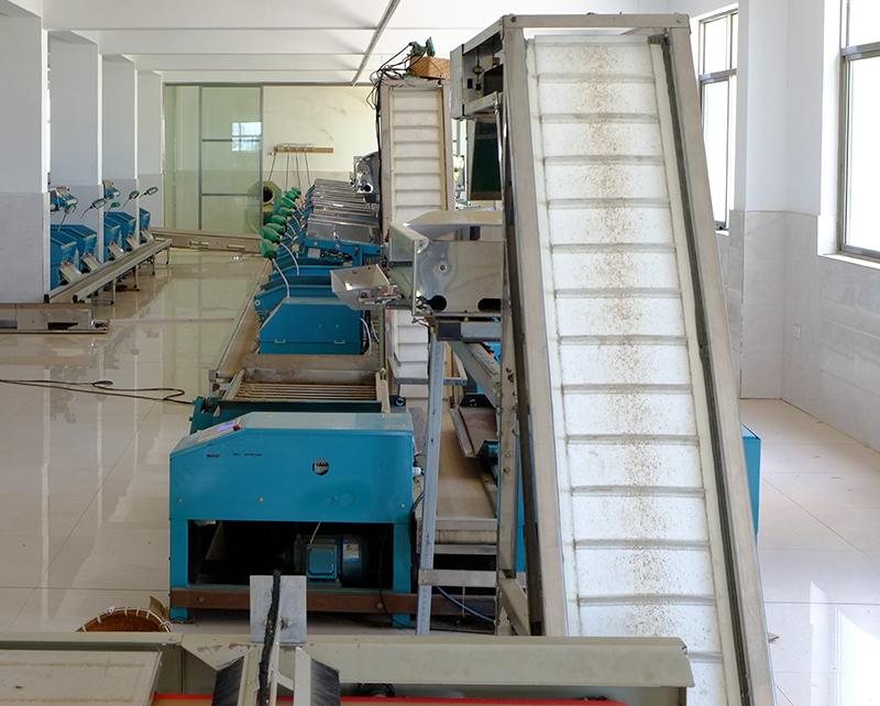 茶叶加工设备厂家给您介绍绿茶的加工工艺及特性